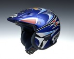 &quot;Shoei TR-3 Fujinami rplica Azul&quot;