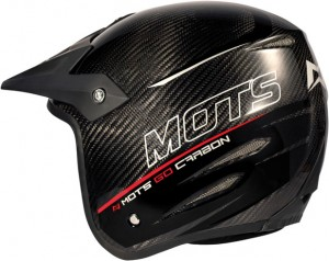 """Casco trial MOTS Go Carbono"""
