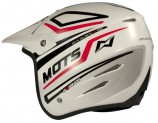 &quot;Casco trial MOTS Fast fibra&quot;